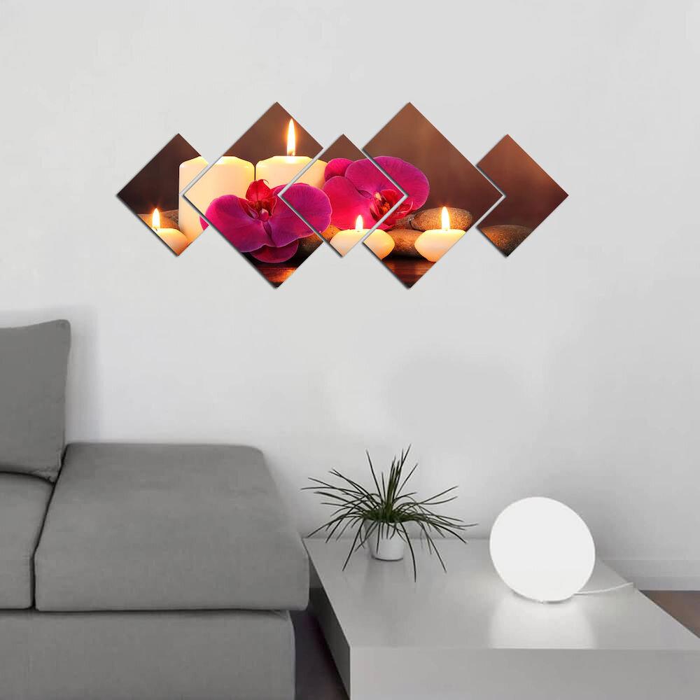 Tablou decorativ MDF (5 Piese)Astro