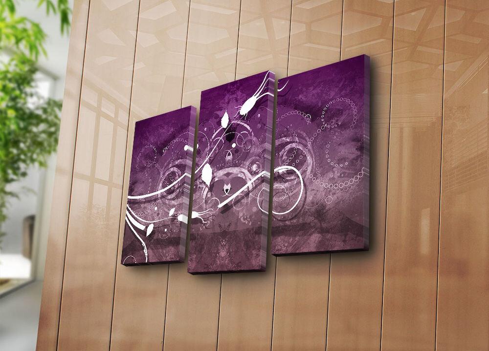 Tablou decorativ canvas(3 Piese)Canvart