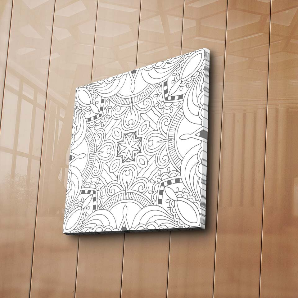 Tablou decorativ de colorat, canvas My Design