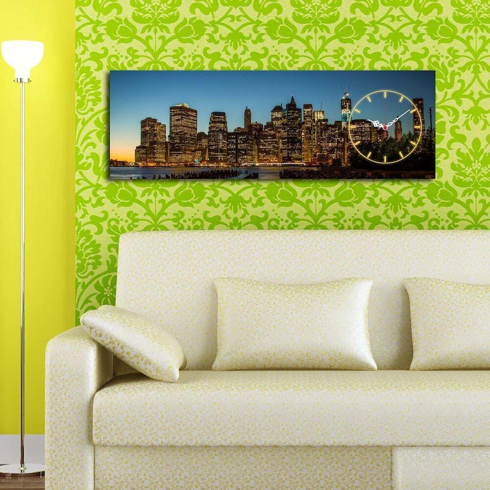 Tablou decorativ canvas cu ceasClockity