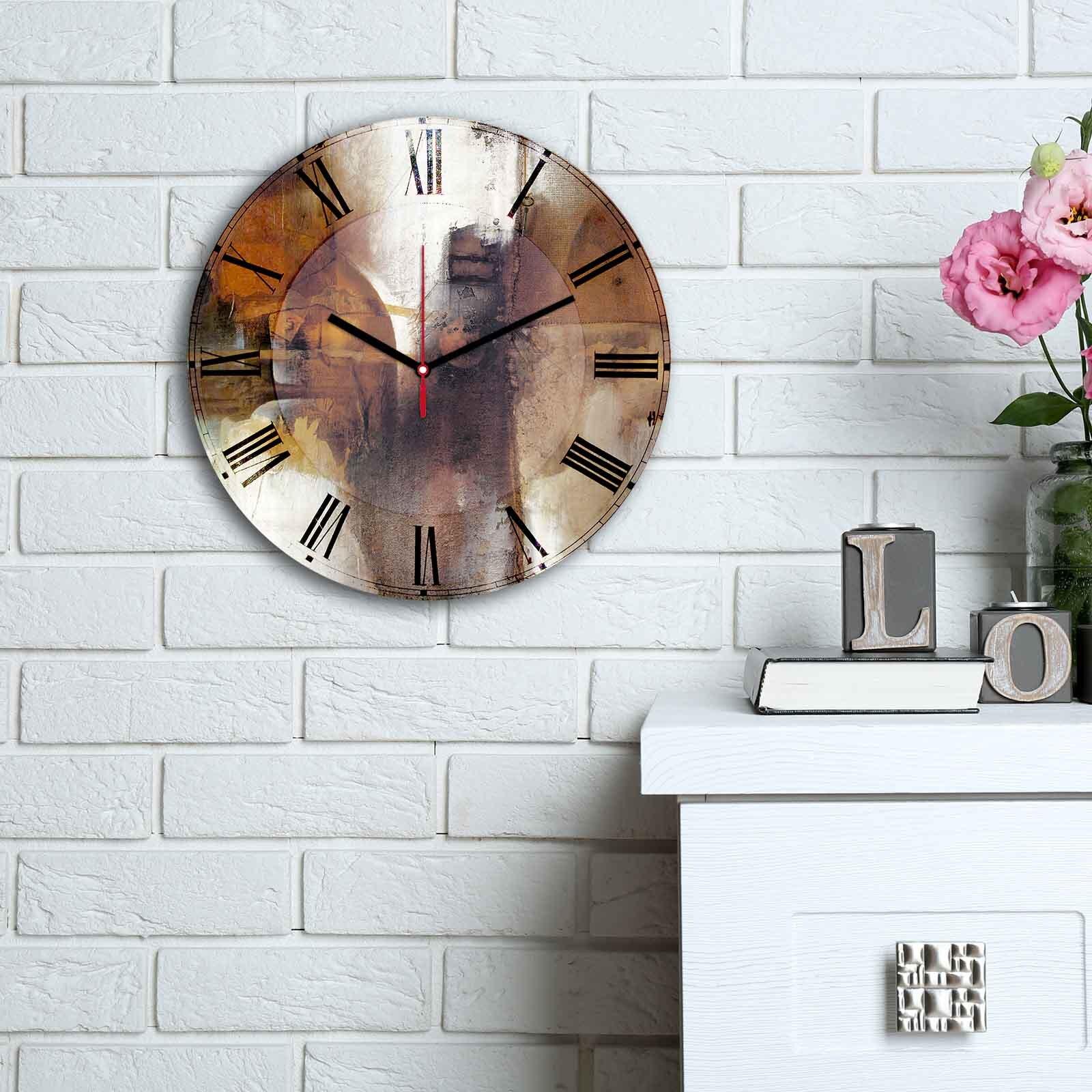 Ceas decorativ de perete din MDF Home Art