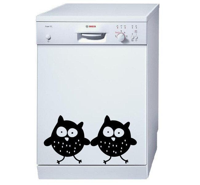 Sticker decorativ pentru frigiderPushy