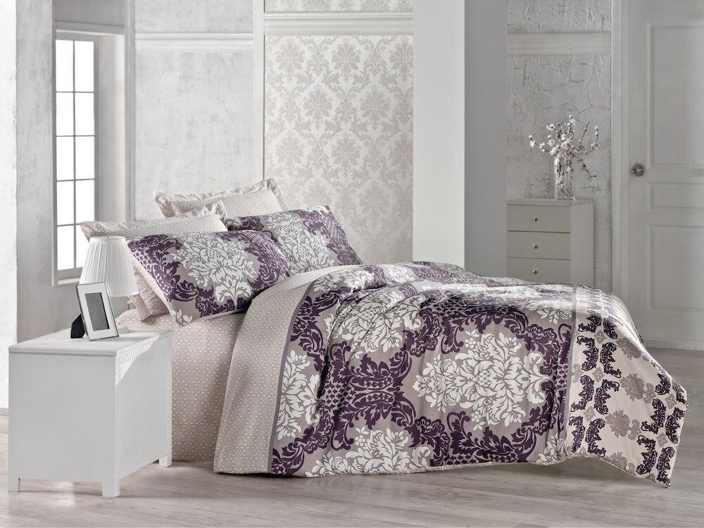 Lenjerie dubla de pat, Cotton Box, material: 100% bumbac