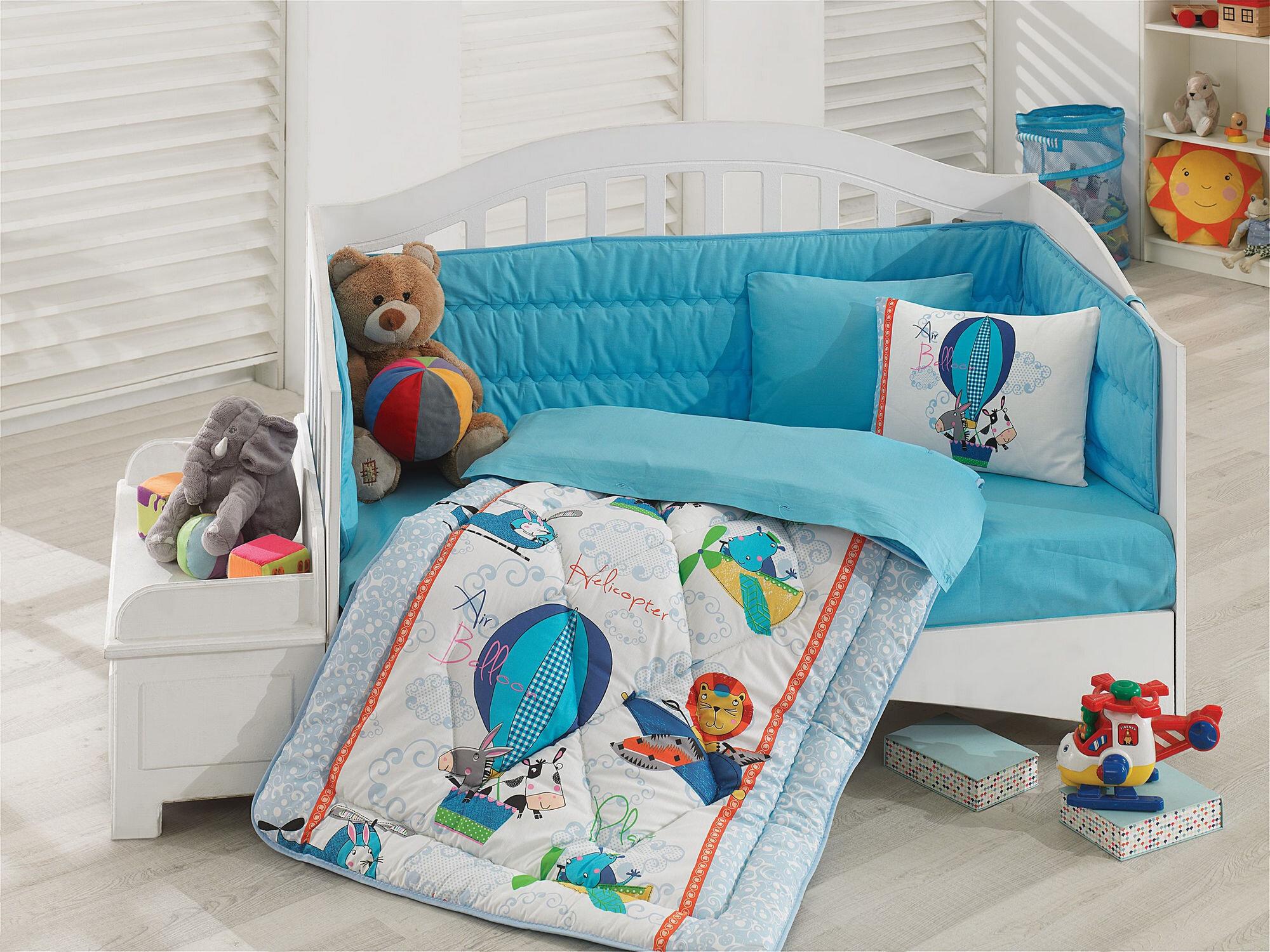 Lenjerie de pat pentru copii, Cotton Box, material: 100% bumbac