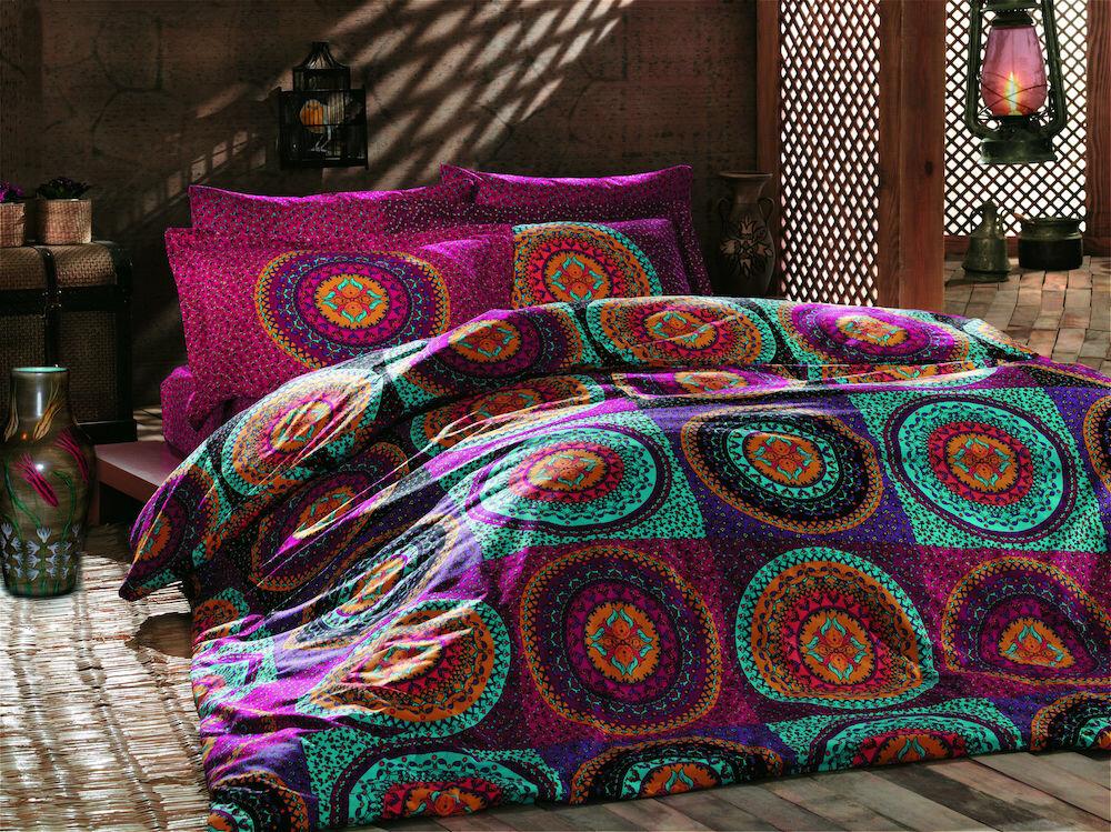 Lenjerie de pat, Turkiz Collection Tuareg, material: 100% bumbac, 111TRK2209