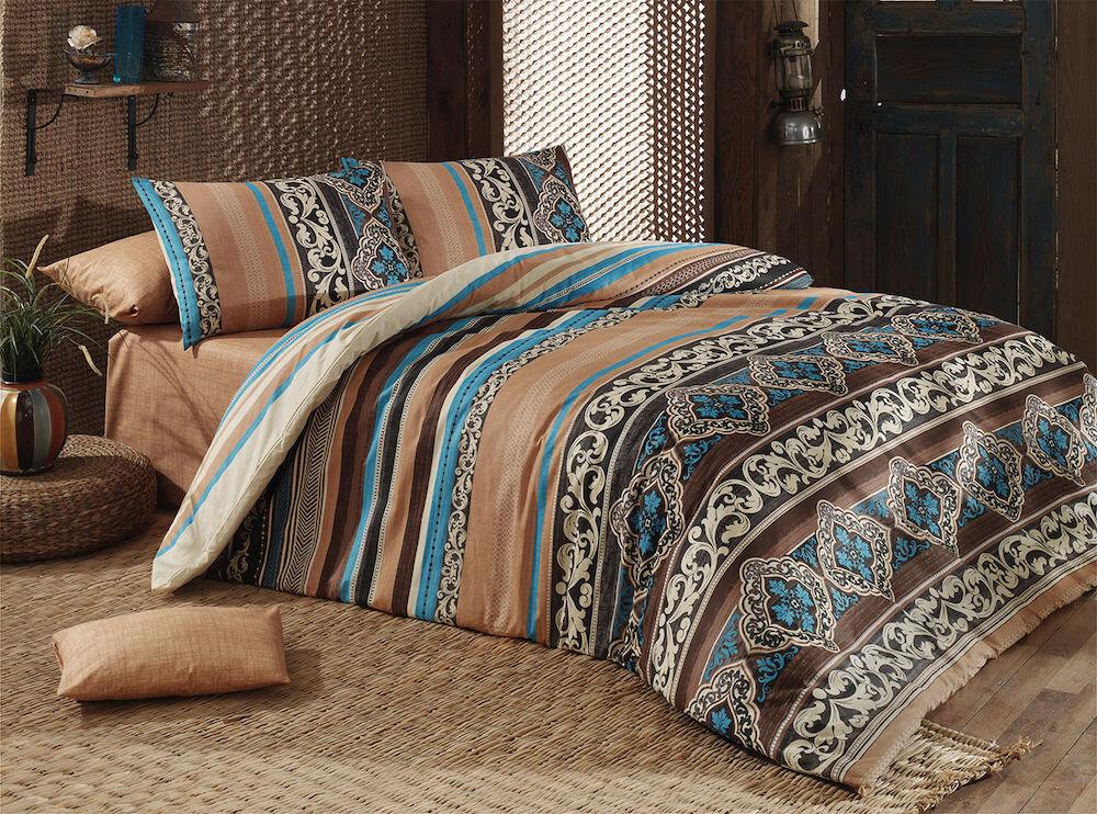 Lenjerie de pat, Majoli Bahar Home Collection, material: 100% bumbac, 110BHR2376