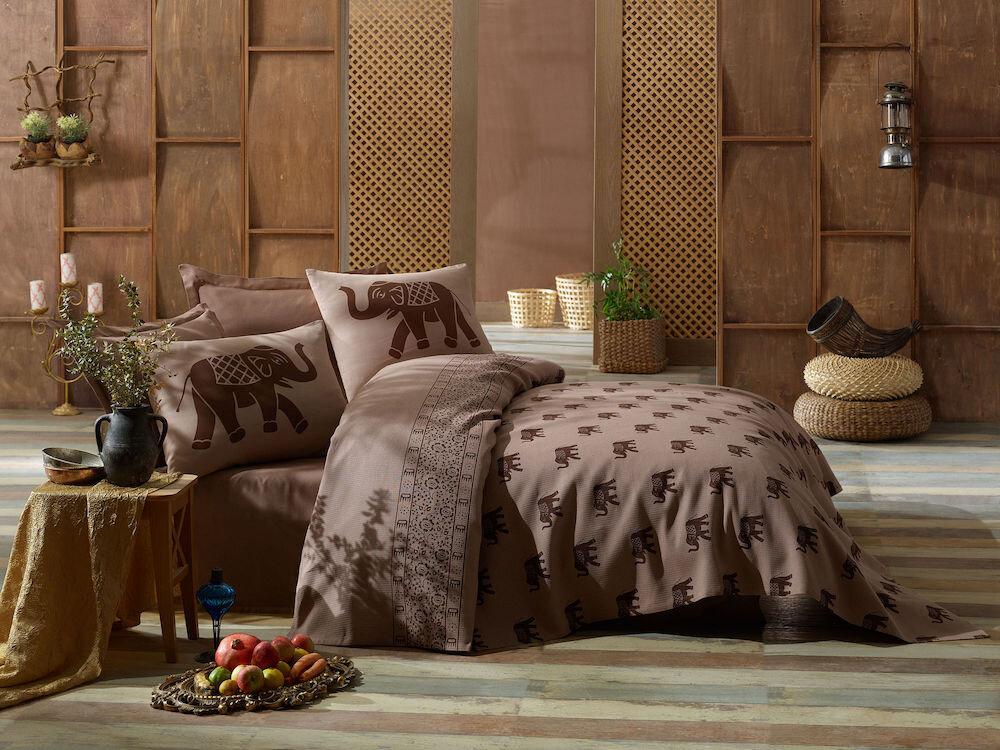 Set lenjerie de pat, Eponj Home, material: 100% bumbac, 143EPJ6015