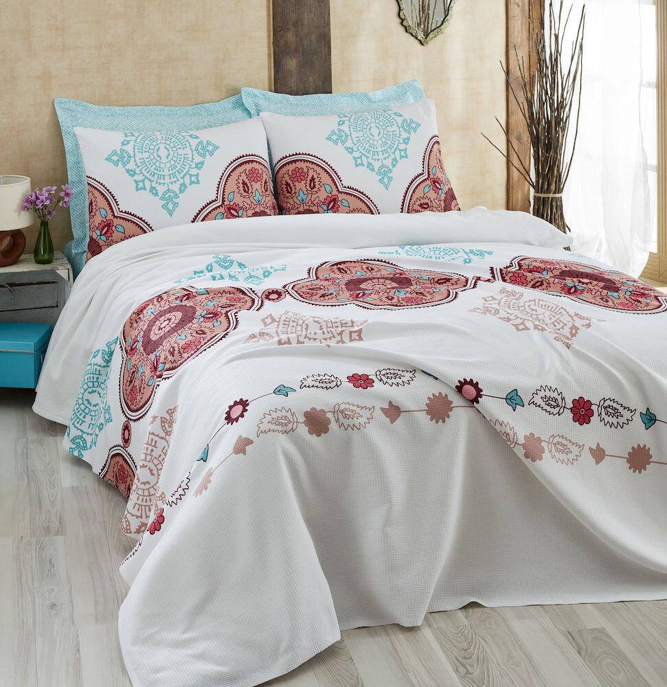 Set lenjerie de pat, Eponj Home, material: 100% bumbac, 143EPJ6017