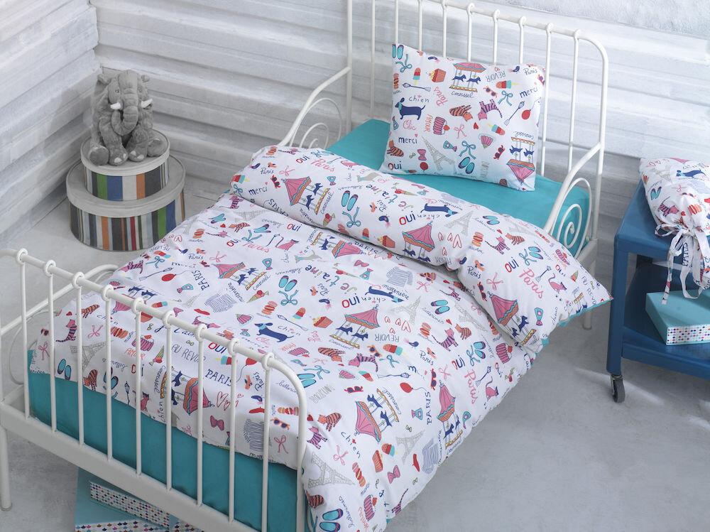 Lenjerie de pat pentru copii, Marie Claire, material: 100% bumbac, 153MCL2017