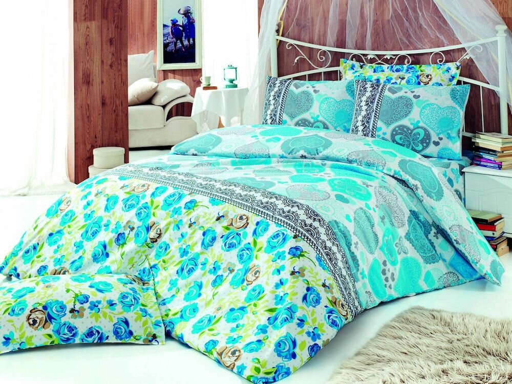 Lenjerie de pat, Pearl Home, material: 50% bumbac / 50% poliester, 172PRL1131