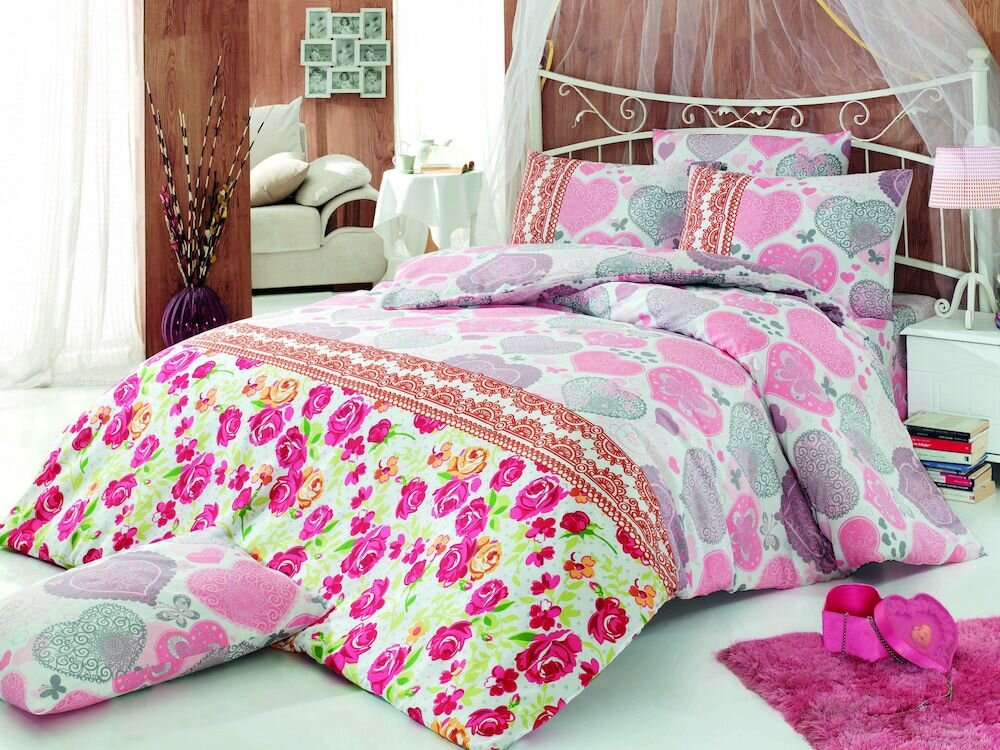 Lenjerie de pat, Pearl Home, material: 50% bumbac / 50% poliester, 172PRL1132
