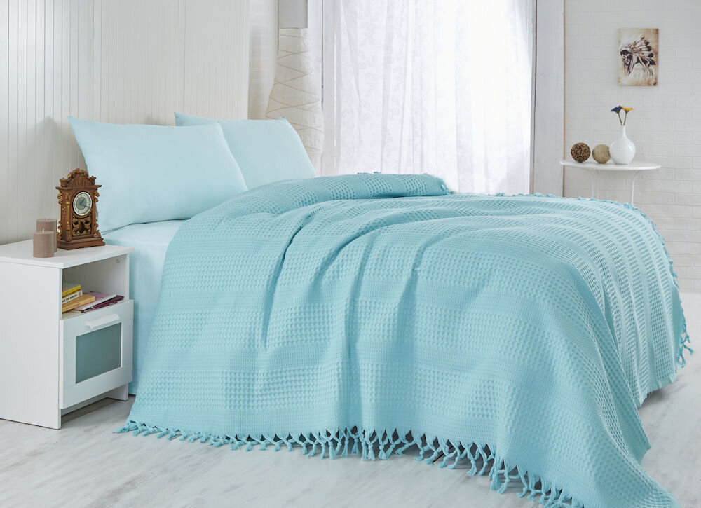 Cuvertura de pat, Saheser, material: 100% bumbac, 157SHS5101
