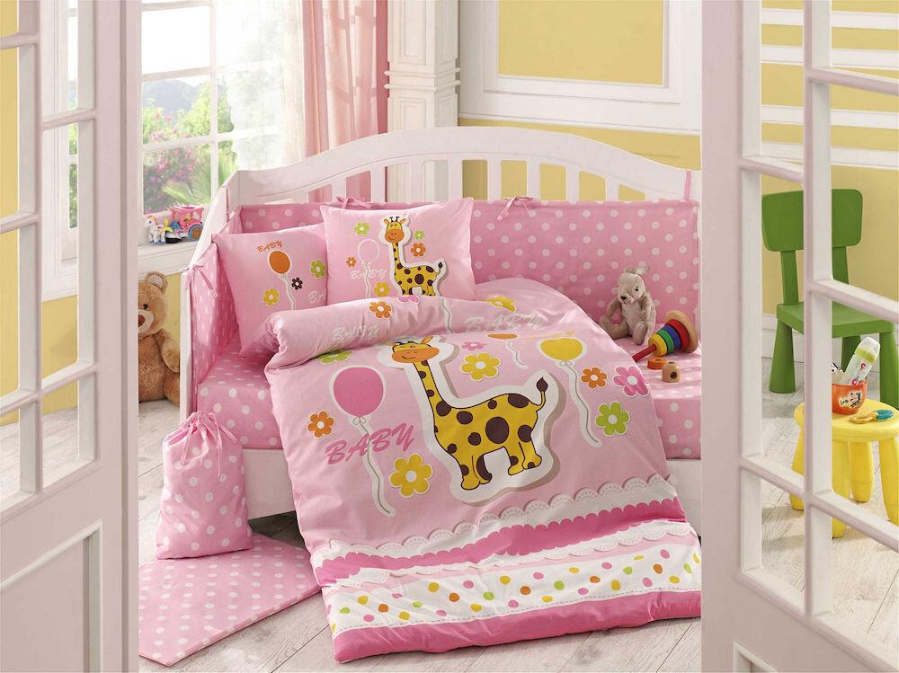 Lenjerie de pat pentru copii, Hobby, material: 100% bumbac, 113HBY0039