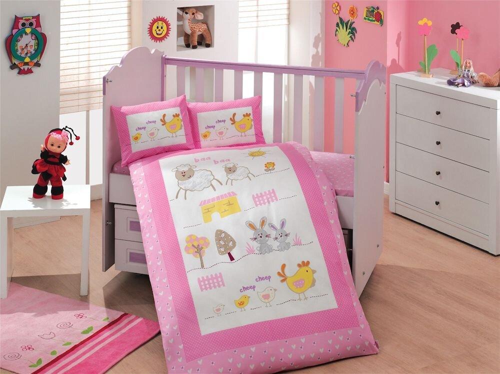 Lenjerie de pat pentru copii, Hobby, material: 100% bumbac, 113HBY0032