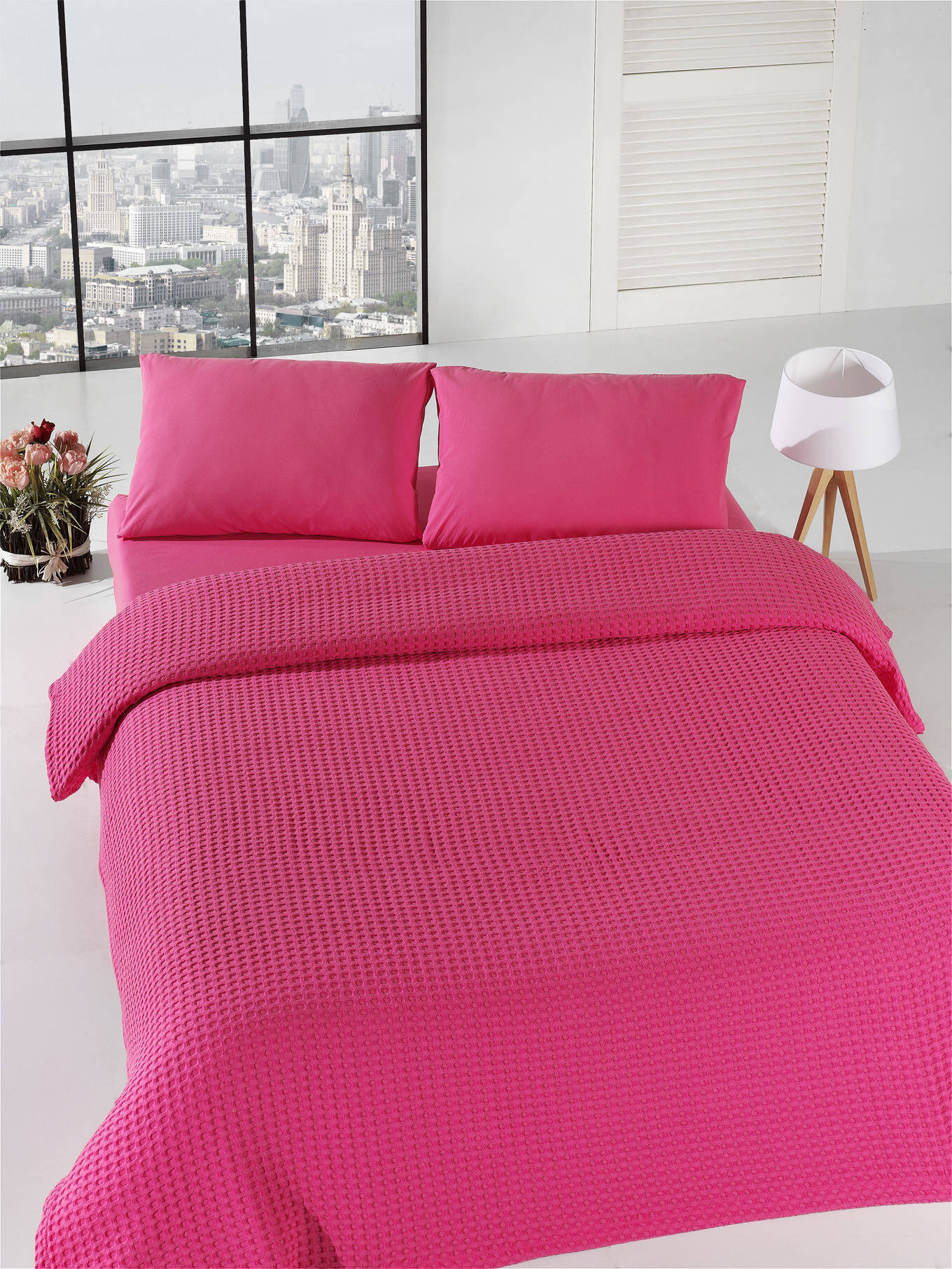 Cuvertura de pat, Eponj Home, material: 100% bumbac, 143EPJ5607