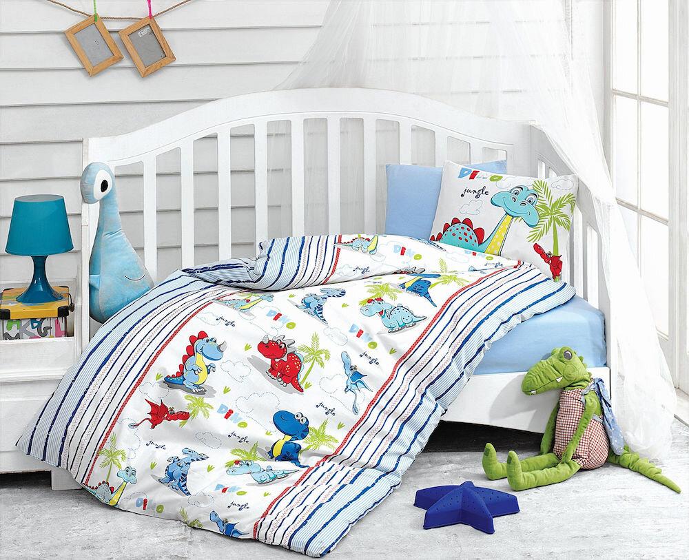 Lenjerie de pat pentru copii, Cotton Box, material: 100% bumbac, 129CTN2092
