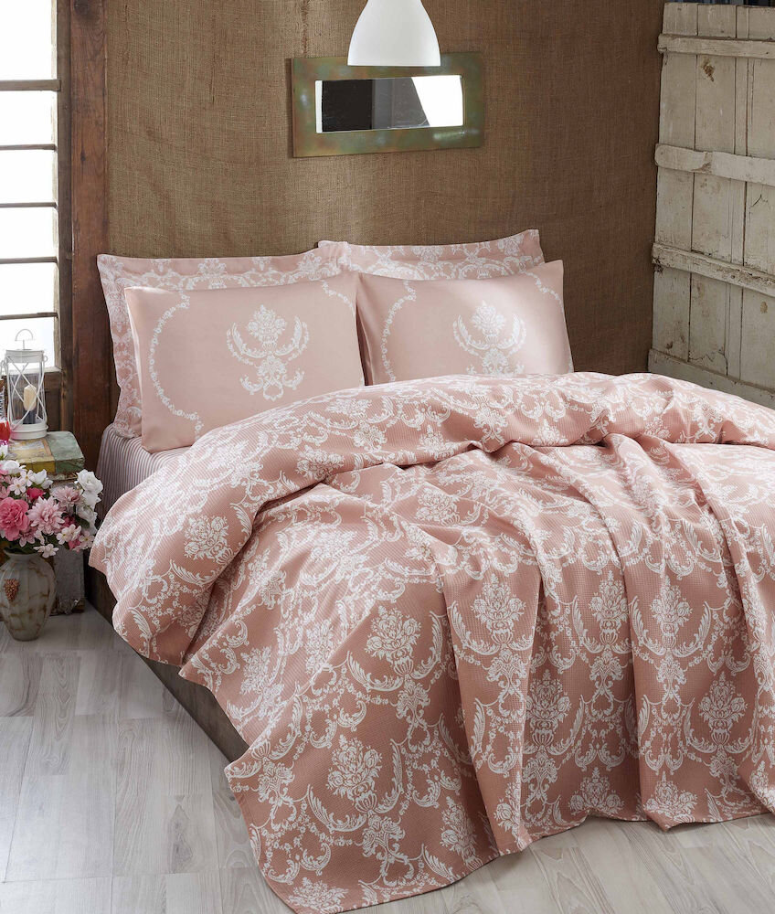 Cuvertura de pat, Eponj Home, material: 100% bumbac title=Cuvertura de pat, Eponj Home, material: 100% bumbac