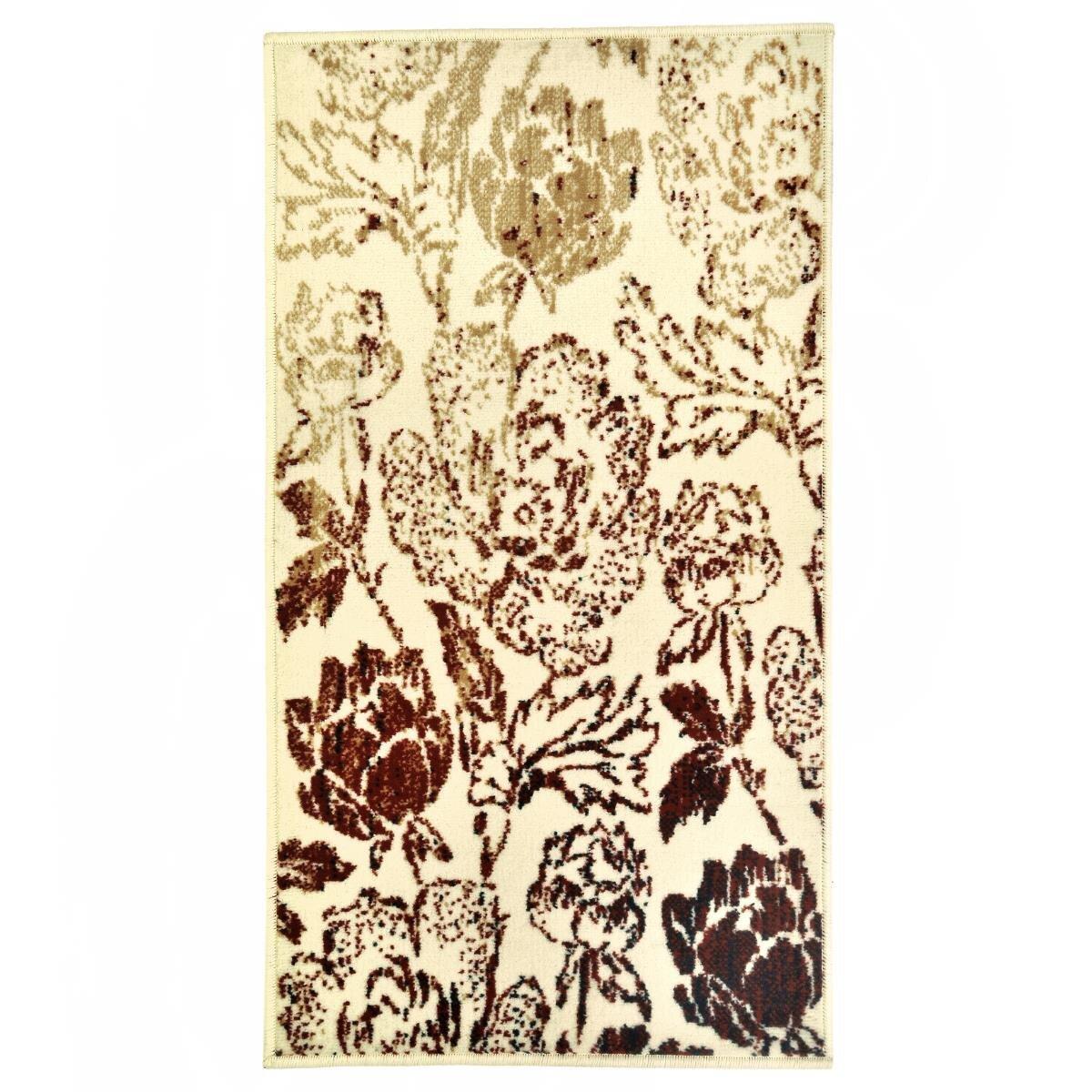 Covor Decorino C-020168 Polipropilena Floral 60x110 cm