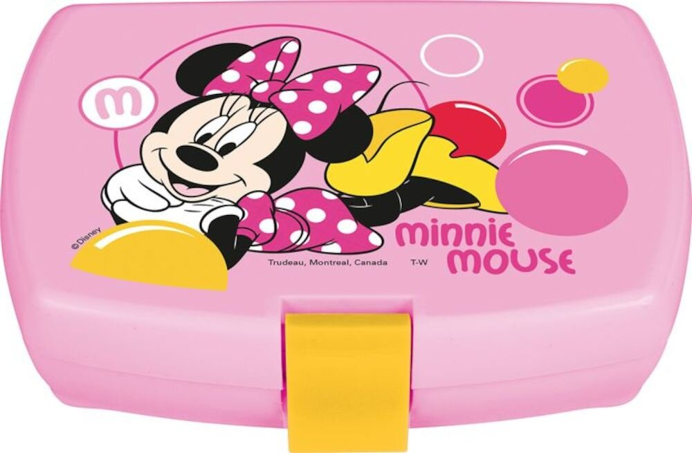 Cutie sandwich Disney, 29985, Polipropilena, Minnie Bubbles, roz