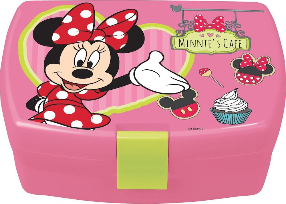 Cutie sandwich Disney, 64249, Melamina, Minnie Mouse, roz