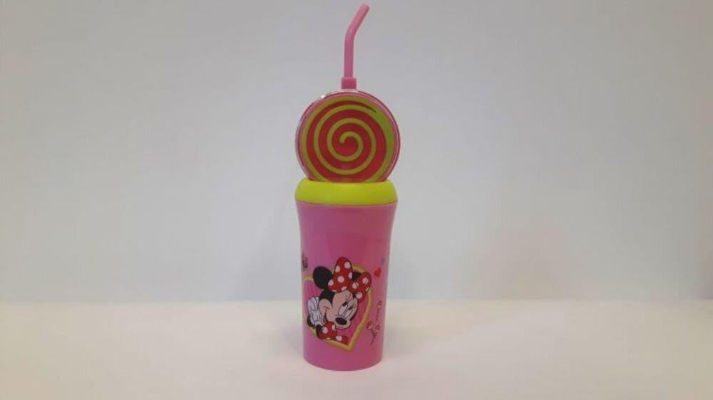 Recipient pentru apa Disney, 89178, Lollipop Minnie Mouse, roz