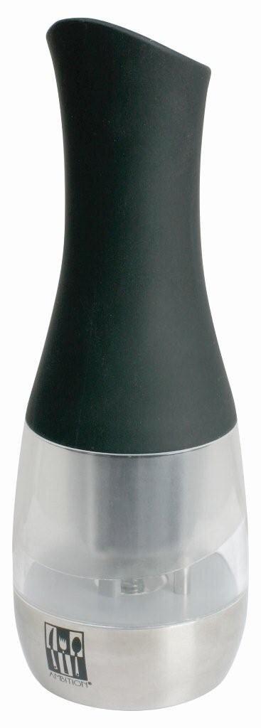 Rasnita electrica pentru piper Ambition, 37766, mecanism ceramic, Negru