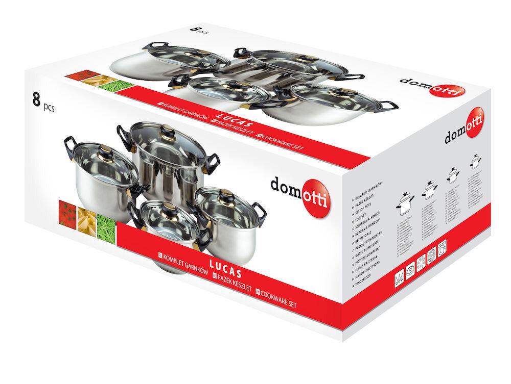 Set de oale Domotti, 68839, 8Piese, Argintiu