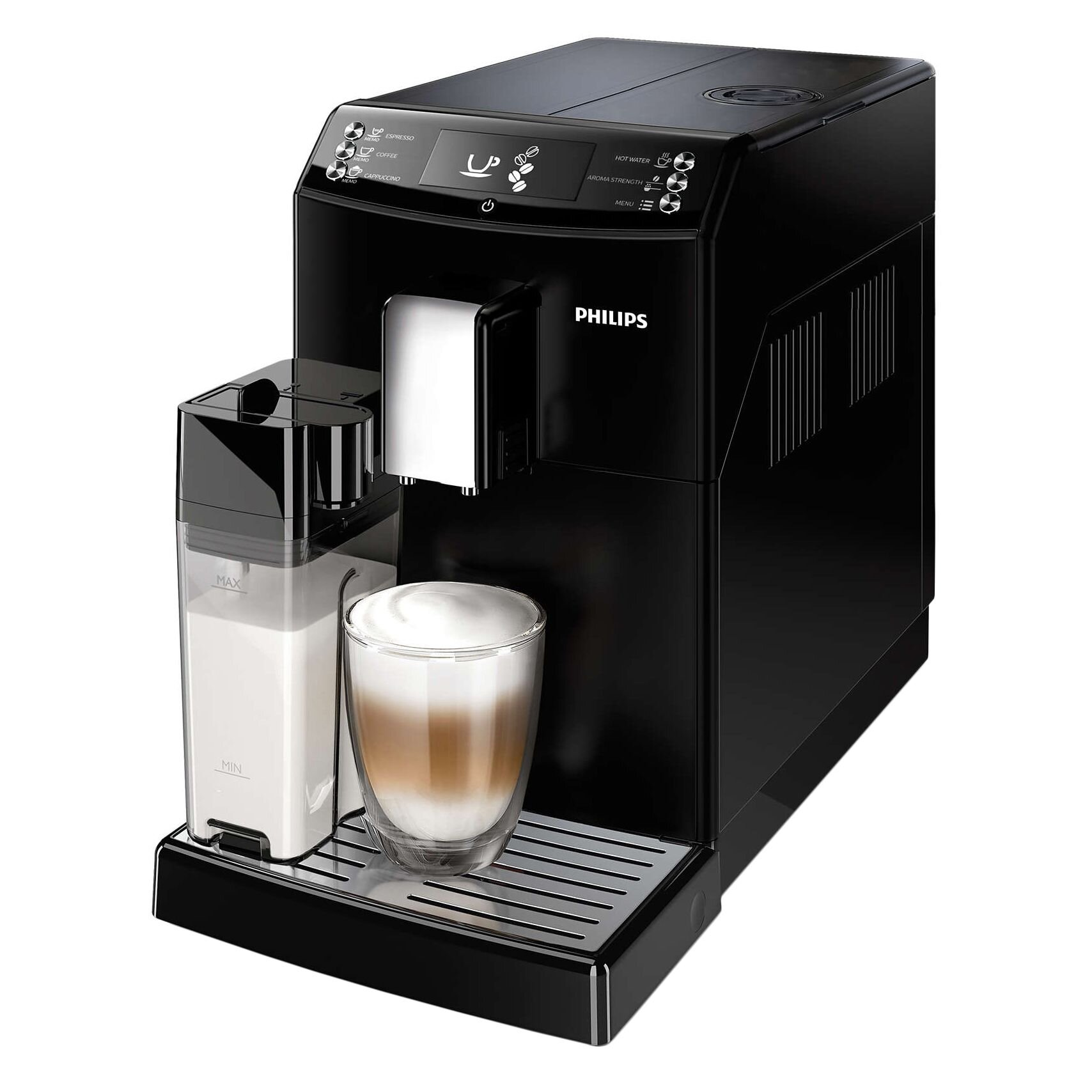 Espressor super automat Philips Seria 3100, EP3550/00, 1.8l, negru