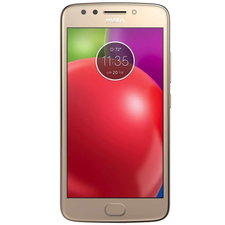 Telefon mobil MOTOROLA Moto E4, PA750070RO, 5 inch , 16 GB, Gold