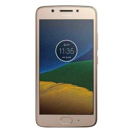 Telefon mobil MOTOROLA G5, PA610021RO, 5 inch, 16 GB, Gold