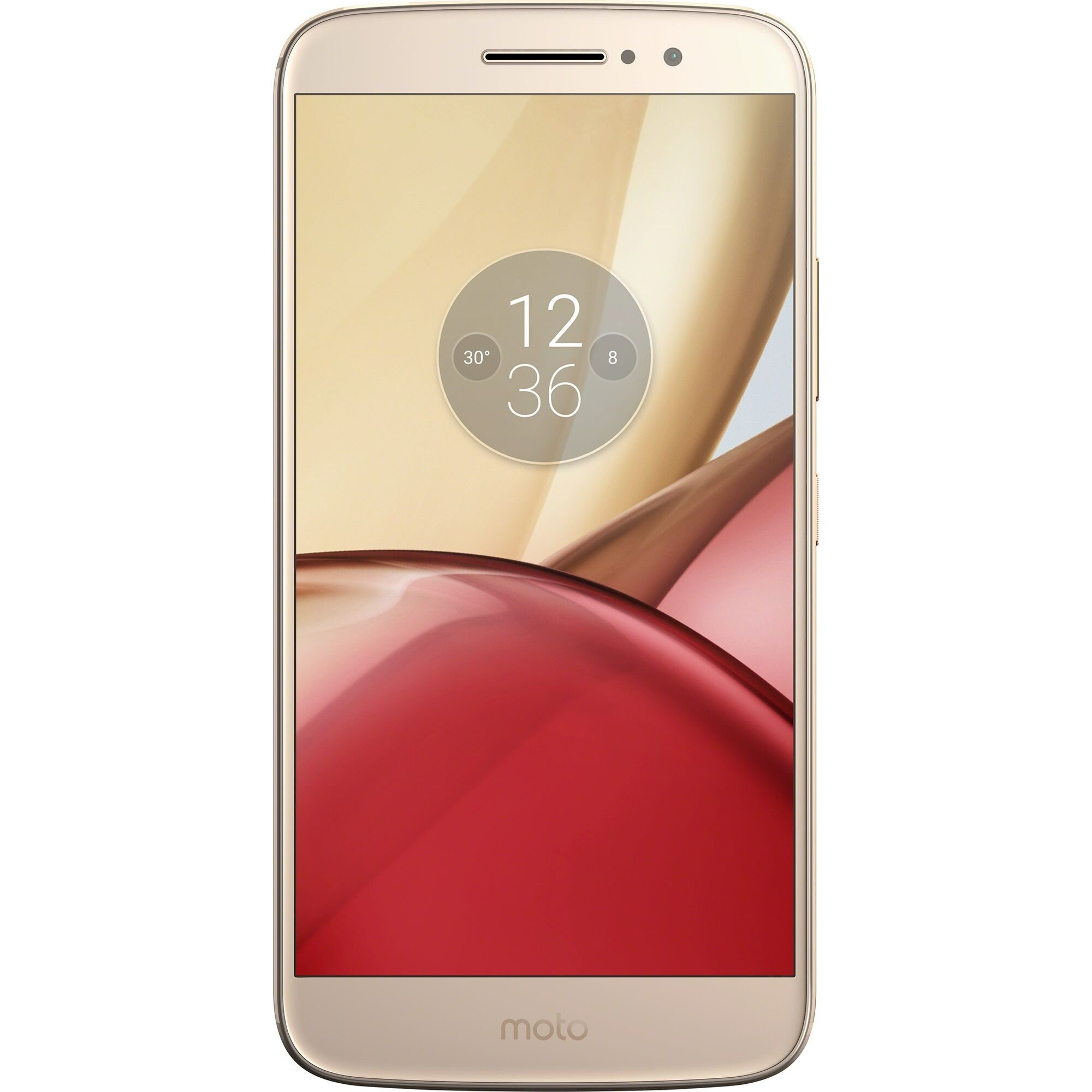 Telefon mobil MOTOROLA Moto M, PA5D0068RO, 5.5 inch, 32 GB, Gold