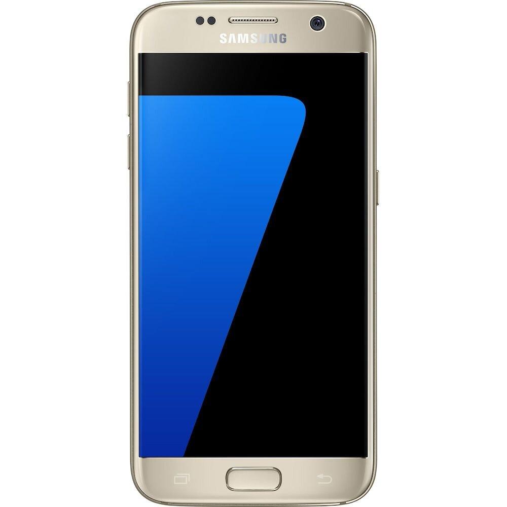 Telefon mobil Samsung Galaxy S7, SM-G930FZDAROM, 5.1 inch, 32 GB, Gold