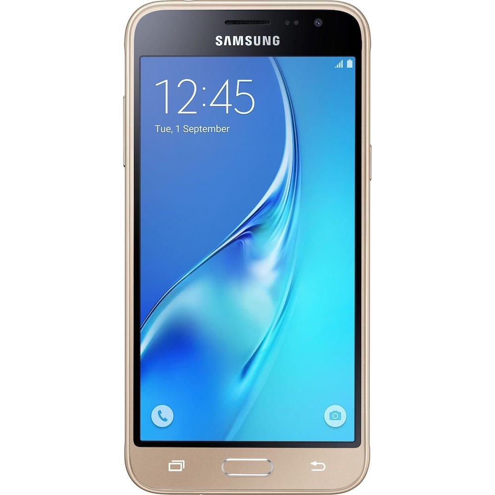 Telefon mobil Samsung Galaxy J3, SM-J320FZDDROM, 5 inch , 8 GB, Gold