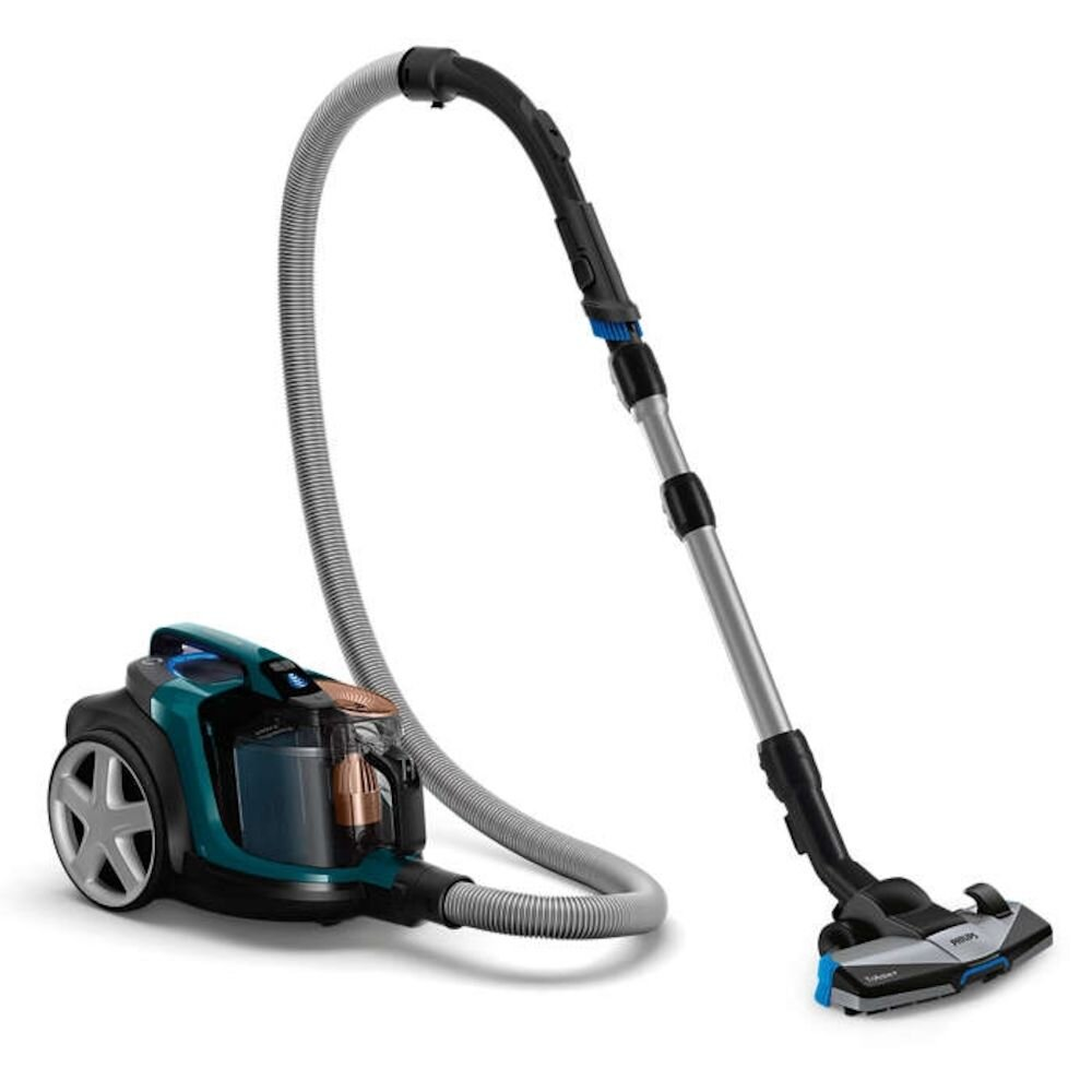 Aspirator fara sac Philips PowerPro Expert FC9744/09, 650W, albastru