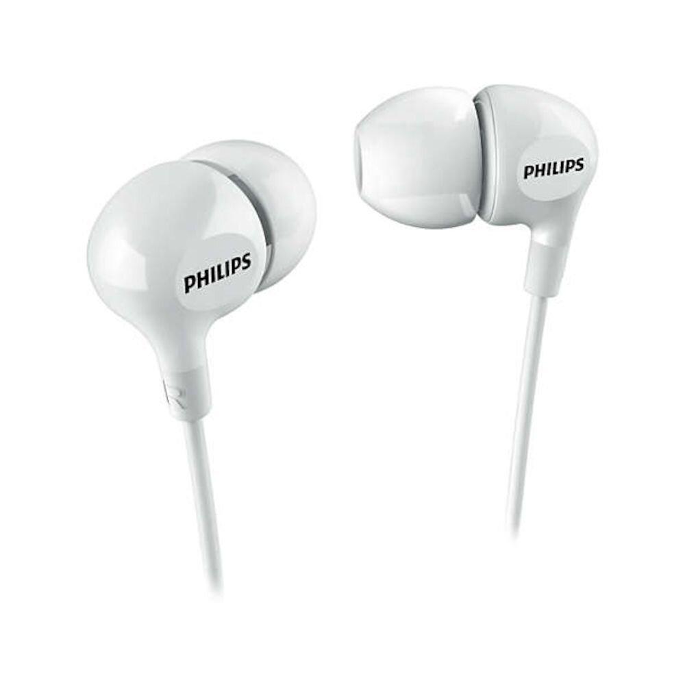 Casti in-ear Philips SHE3550WT/00, Jack 3.5 mm, Alb