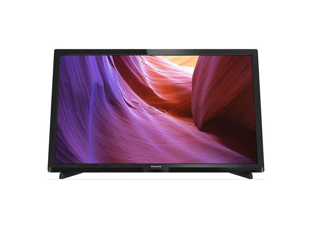 Televizor LED Philips 56 cm, 22PFH4000, Full HD, negru