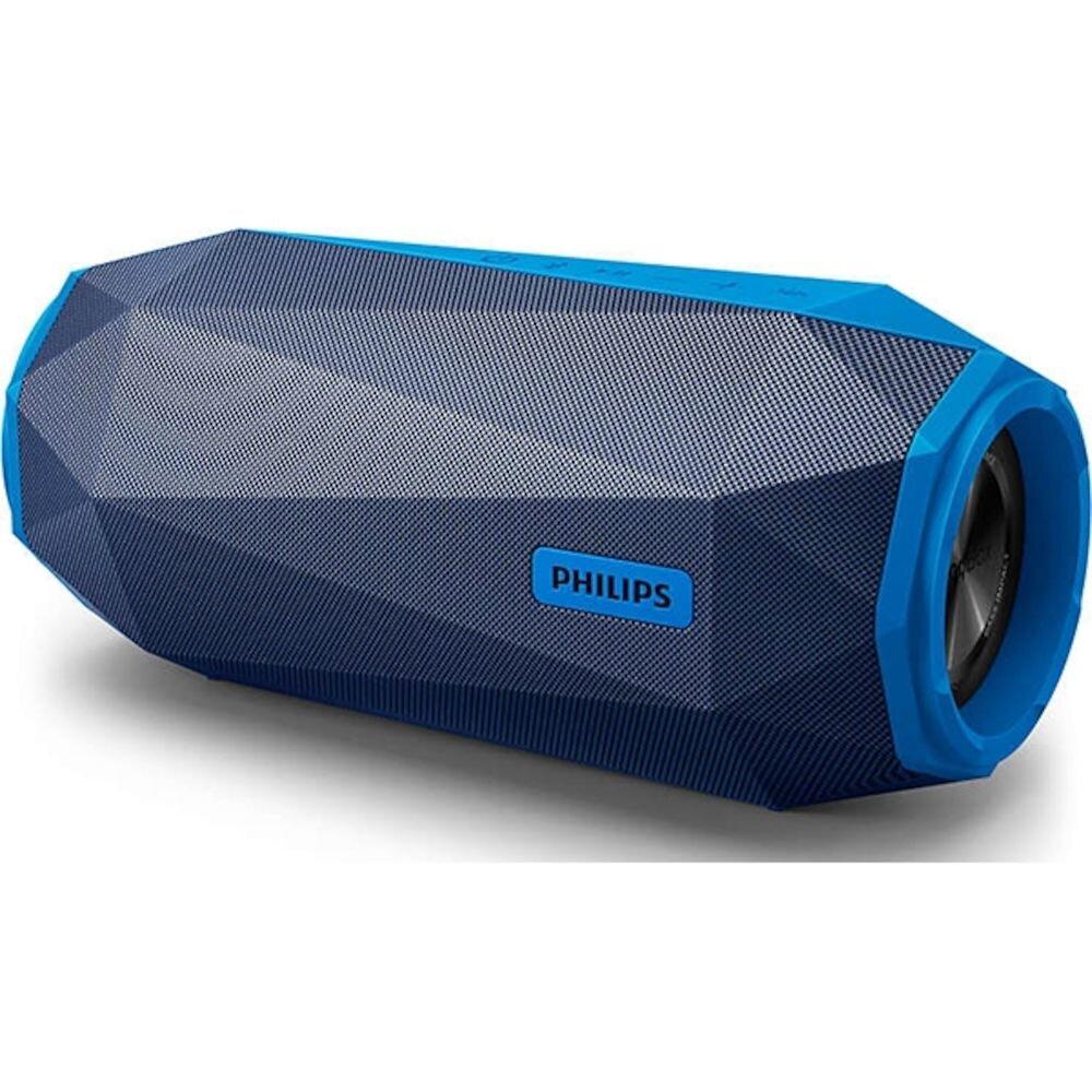 Boxa portabila wireless Philips ShoqBox SB500A/00, Bluetooth, albastru