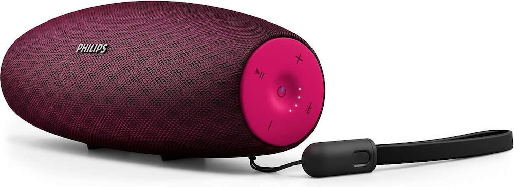 Boxa portabila wireless Philips EverPlay BT7900P/00, 14 W, roz