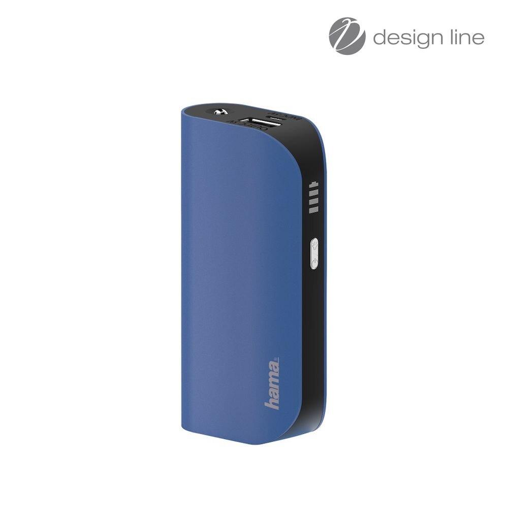 Baterie externa Hama, 178216, 5200mAh, albastru