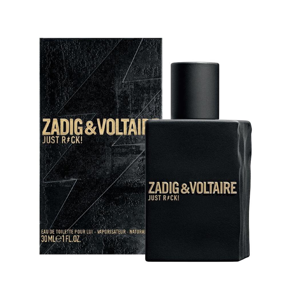 Apa de toaleta Zadig et Voltaire Just Rock! For Him, 30 ml, Pentru Barbati