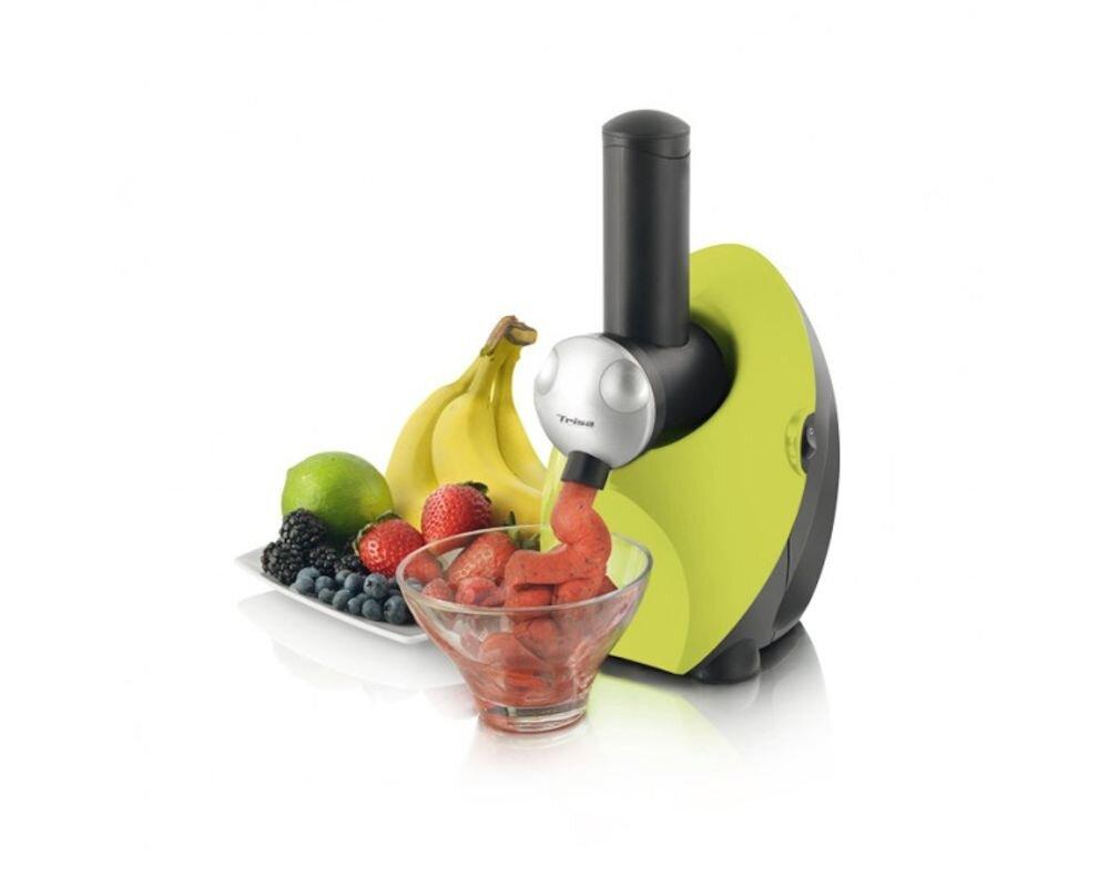 Aparat pentru preparat sorbet Trisa Fruit Sorbet, Verde, 150W, 400g/min