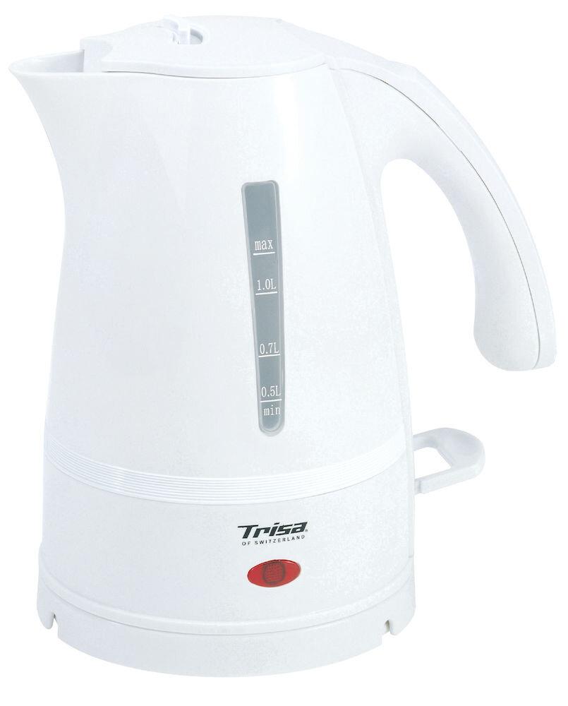 Fierbator Trisa Aqualino 6410.70, Capasitate 1L, Culoare Alb, 2000W