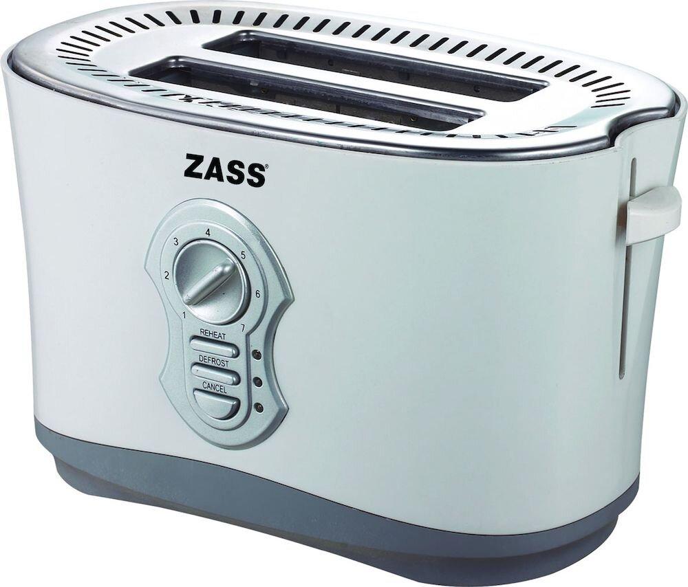 Prajitor de paine Zass ZST 05, 800W, 2 felii, Tavita frimituri