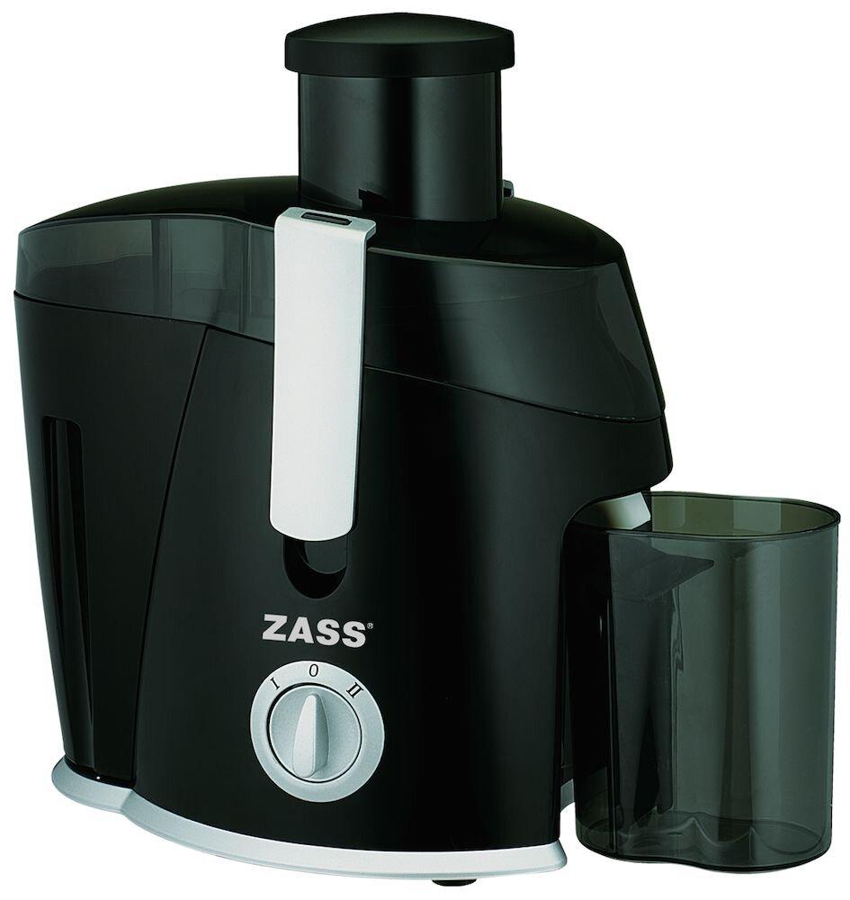 Storacator de fructe Zass ZJE 08B, 400W, 2 Viteze, Recipient pulpa 450ml