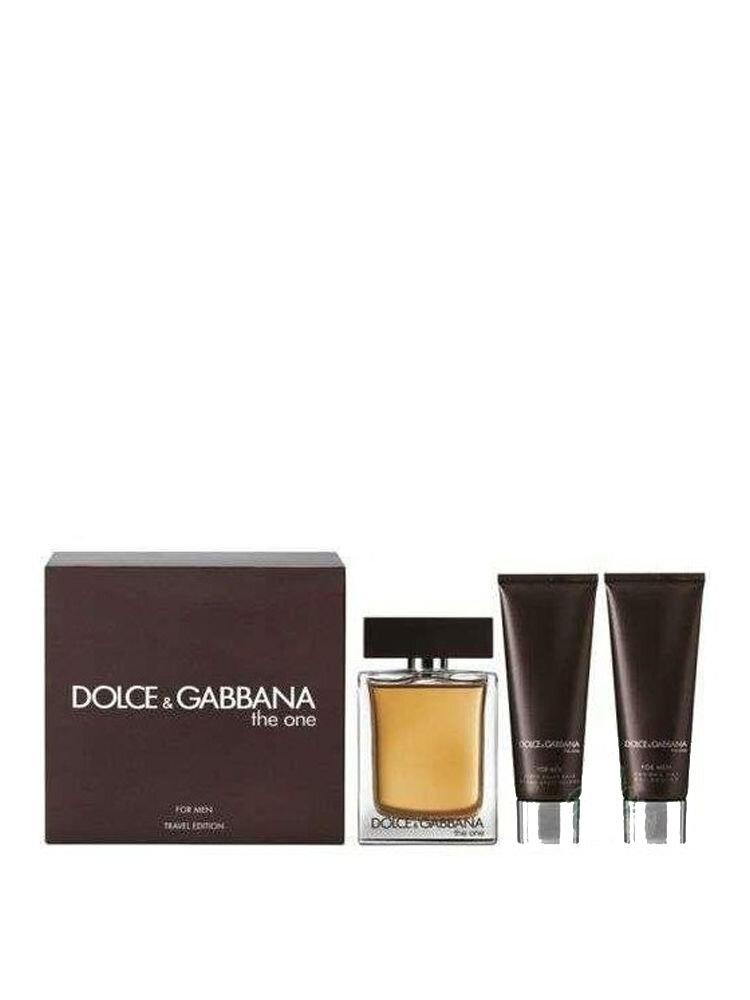 Set cadou The One (Apa de toaleta 50ml + Aftershave Balsam 50ml + Gel de dus 50ml), Pentru Barbati