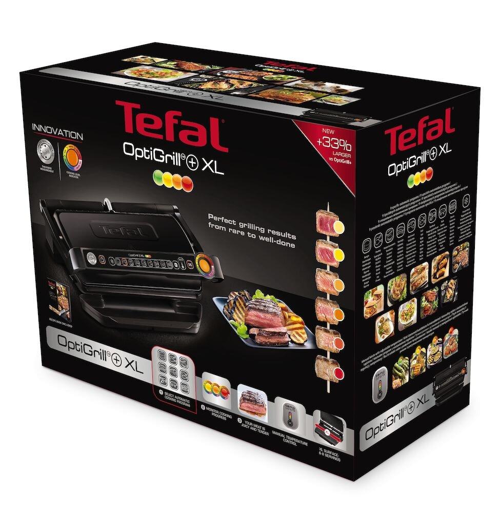 Gratar electric Tefal GC722834 2000 W, 800 cm2, Negru