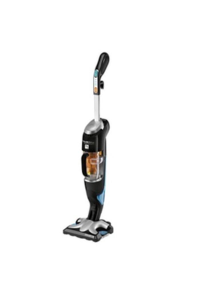 Aspirator cu abur Rowenta Clean & Steam RY7535WH, 1700 W, 0,4 L, negru