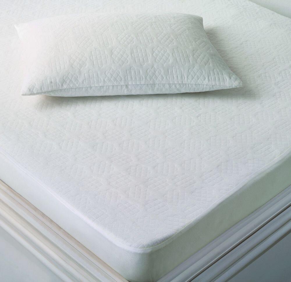 Protectie saltea single Marie Claire, 153MCL9803, 120 x 200 cm, bumbac, poliester, nylon