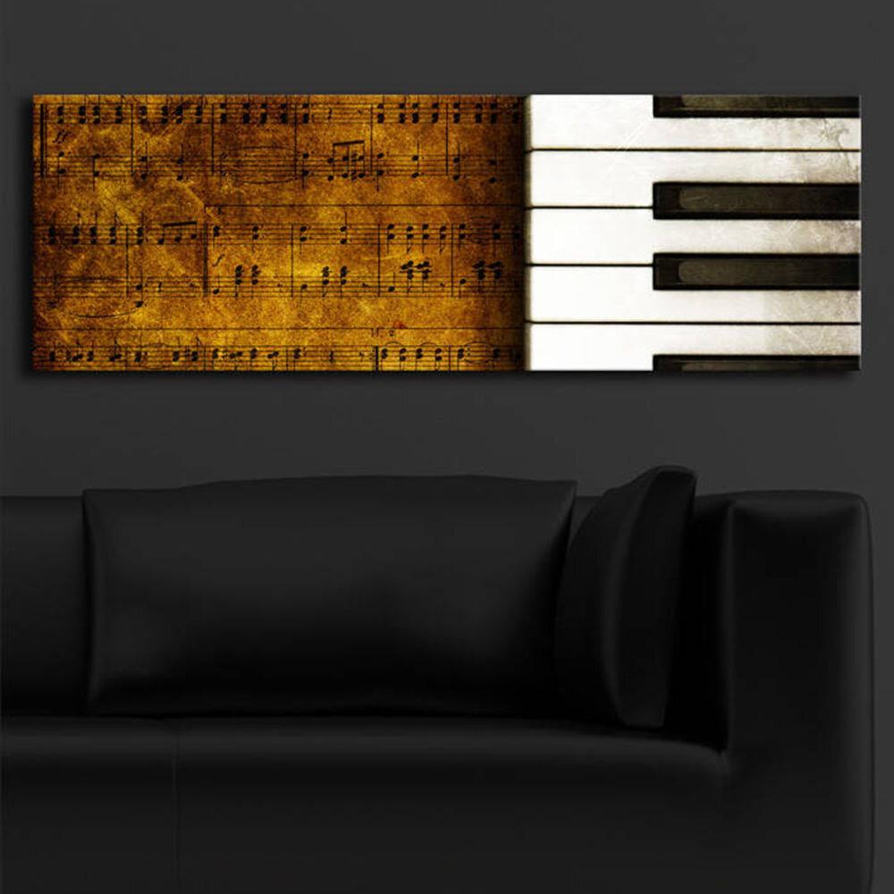 Tablou pe panza iluminat Shining, 239SHN1217, 30 x 90 cm, panza