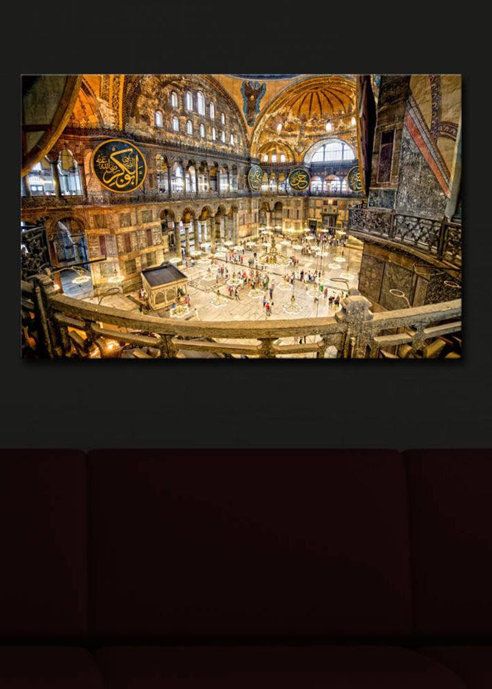 Tablou pe panza iluminat Shining, 239SHN1237, 45 x 70 cm, panza